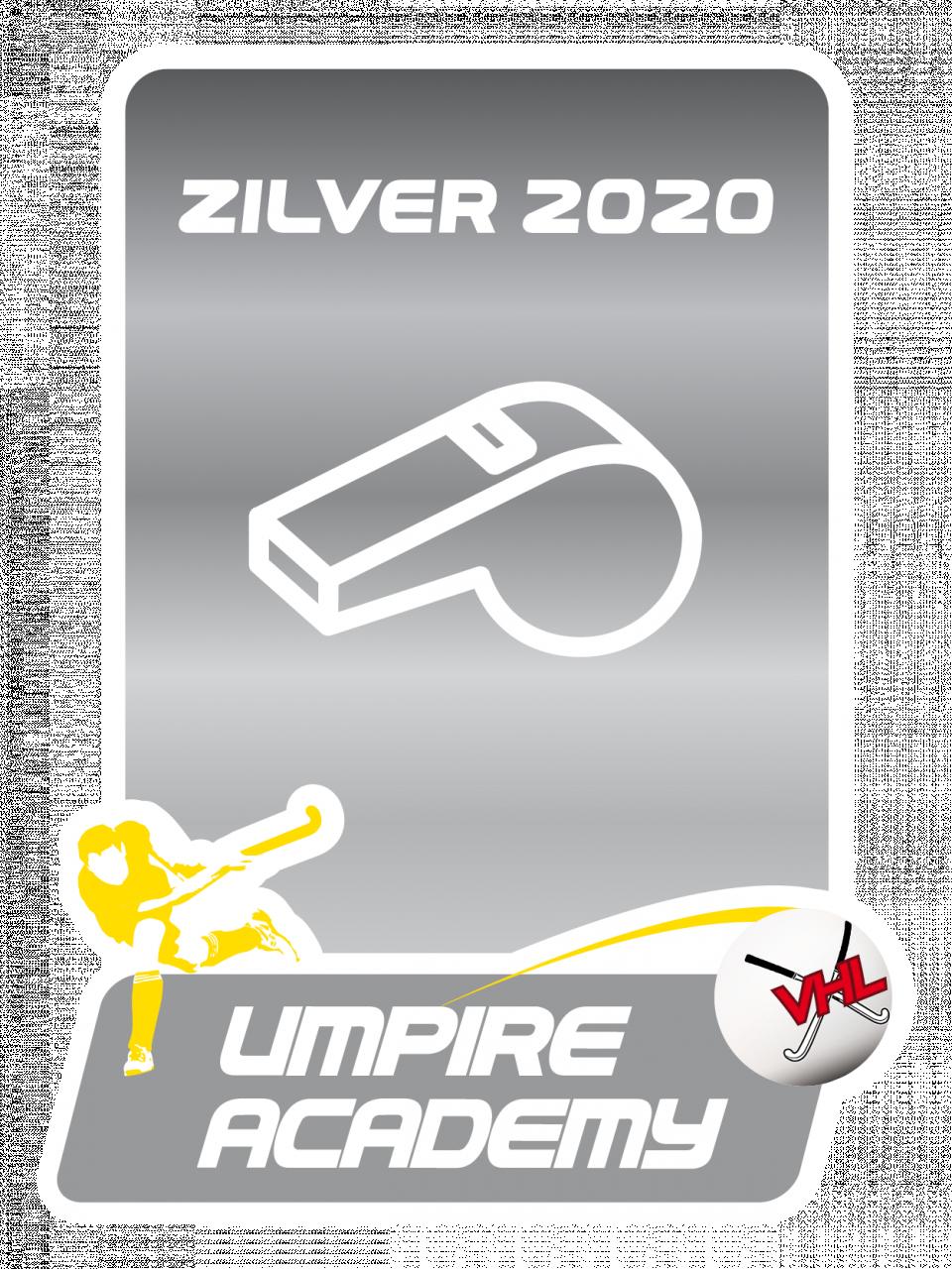 Zilveren Umpire Label