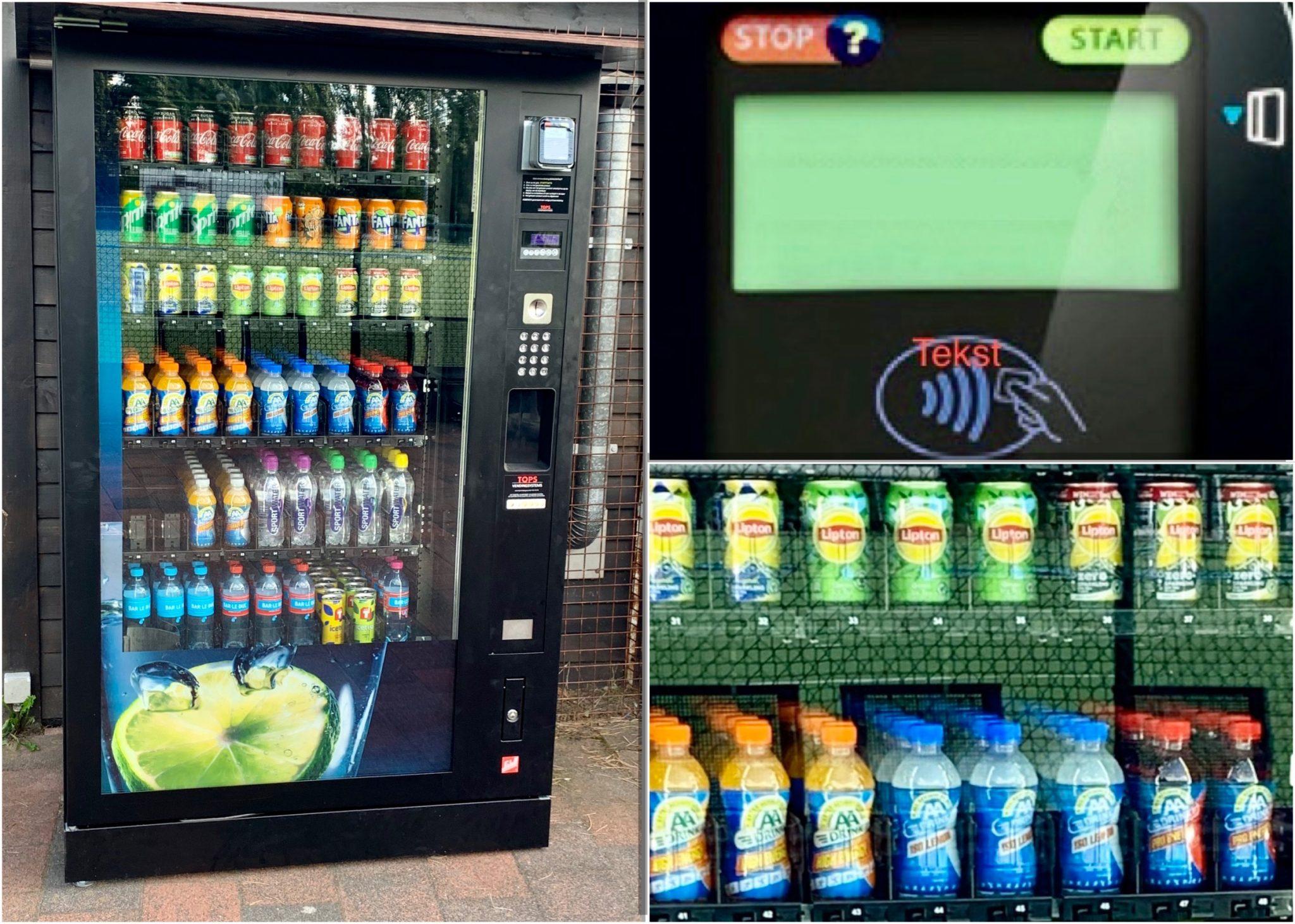 Nieuwe drankautomaat!