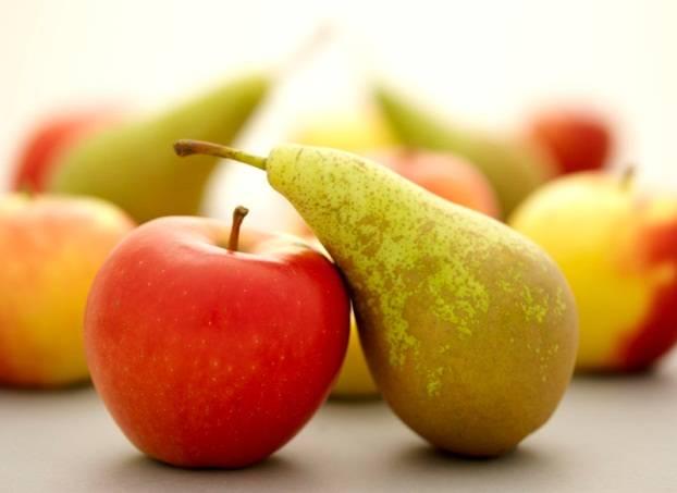 Jaarlijkse appel- en perenverkoop
